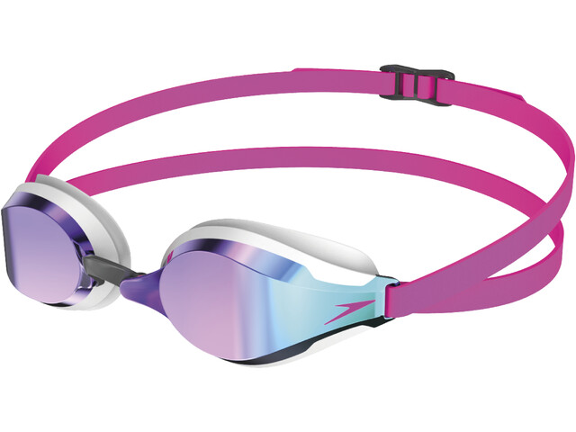 speedo Fastskin Speedsocket 2 Mirror Gafas, pink/blue